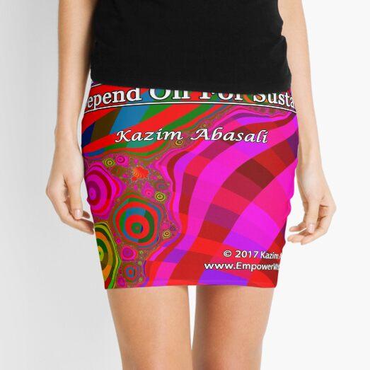 We Are United Mini Skirt