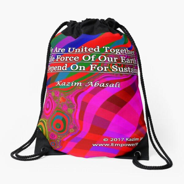 We Are United Drawstring Bag