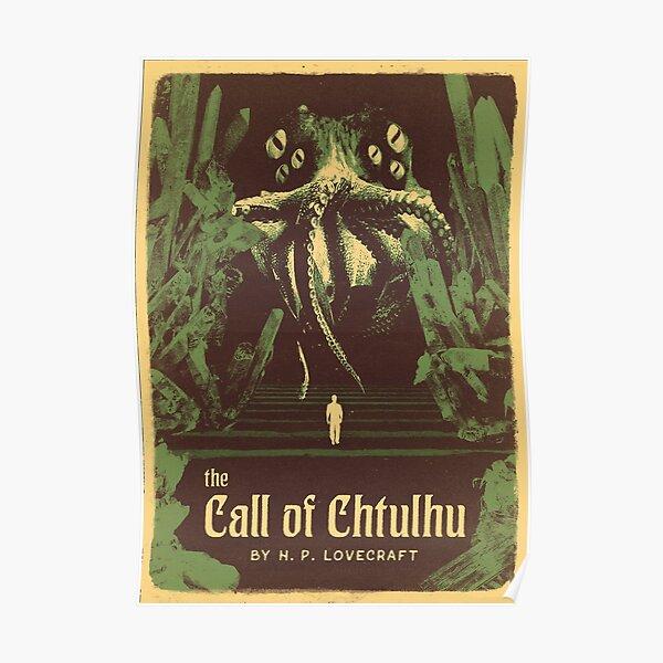 Série Lovecraft: L'appel de Chtulhu Poster