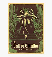 Lovecraft Series: The Call of Chtulhu Photographic Print