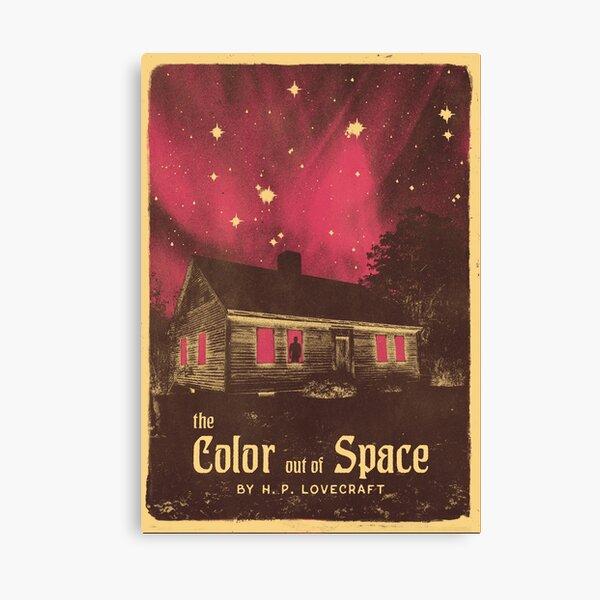 Lovecraft-Serie: Die Farbe aus dem Weltraum Leinwanddruck