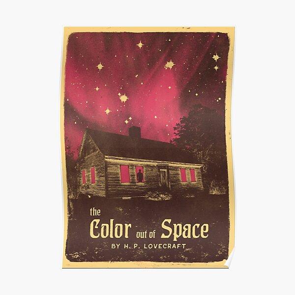 Série Lovecraft: la couleur hors de l'espace Poster
