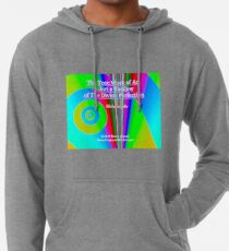 The True Work of Art Lightweight Hoodie