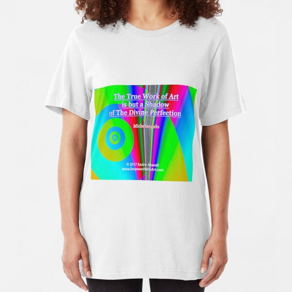 The True Work of Art Slim Fit T-Shirt