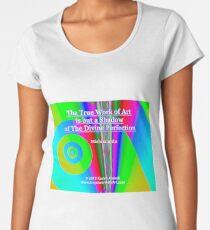 The True Work of Art Premium Scoop T-Shirt