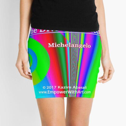 The True Work of Art Mini Skirt