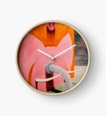 SURREALISM - Pinky Pig Elephant Clock