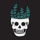 Skull Plant  by Bonnabell .