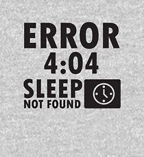 Error 4:04 - Sleep not found Kids Pullover Hoodie