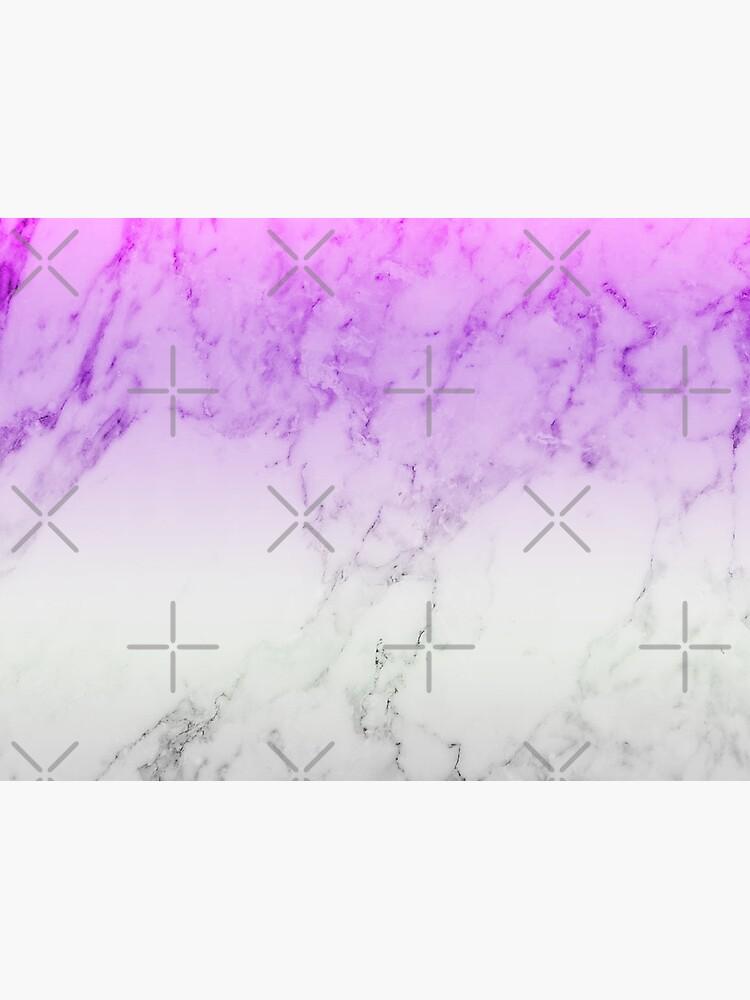 Purple Marble Wallpaper Framed Art Print By Warddt Redbubble