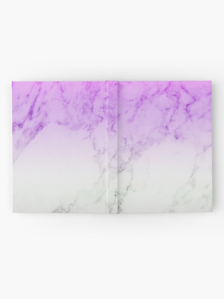 Purple Marble Wallpaper Hardcover Journal By Warddt Redbubble