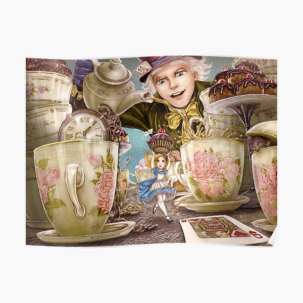 Alice Mad Tea Party Poster