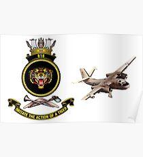 816 Squadron S2E Poster