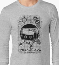 Capsule Spaceship Long Sleeve T-Shirt