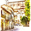 View Of The Village by Giuseppe Cocco