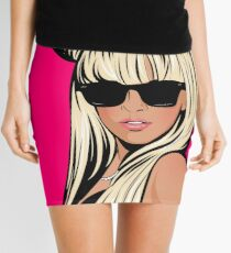 Pop Art 2 Mini Skirt