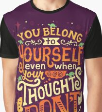 Thoughts are only thoughts Graphic T-Shirt