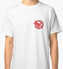 ICAN Red/White Classic T-Shirt