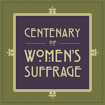 Centenary of Women's Suffrage by RedCloudDesign