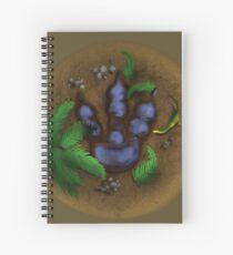 Cretaceous Tracks Spiral Notebook