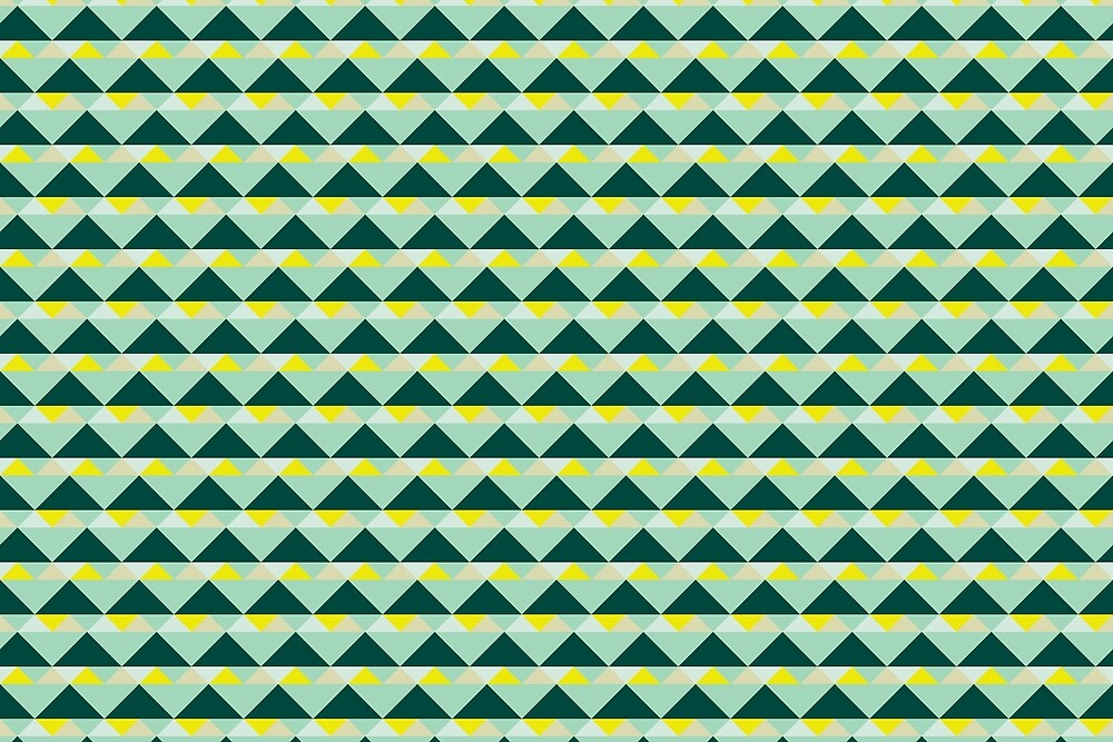 38 Triangles by Annie Webster