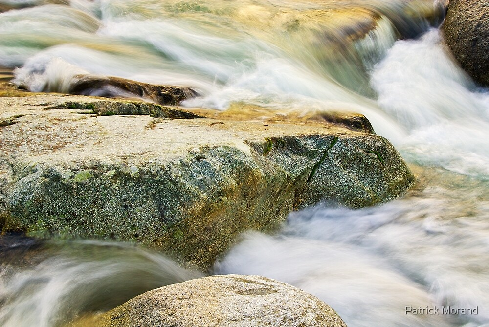 Running water by Patrick Morand