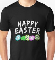 Gift man easter gifts merchandise redbubble happy easter unisex t shirt negle Choice Image