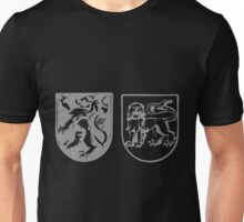 A Complete Guide to Heraldry - Figure 280 — Lion rampant and lion statant guardant, by Mr G W Eve Unisex T-Shirt