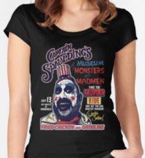Captain Spauldings Museum der Monster und Verrückten Tailliertes Rundhals-Shirt
