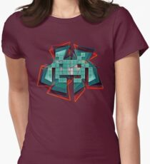 Space invader Women's Fitted T-Shirt