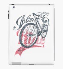 Love to ride my Bike iPad Case/Skin