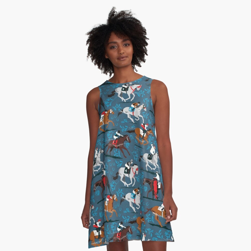 Giddyup!  A-Line Dress
