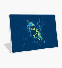 Thirteen TARDIS Splash  Laptop Skin