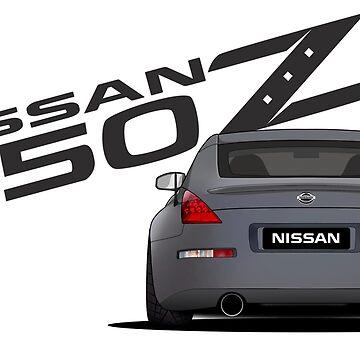 Nissan 350Z // Rear by PixelRandom