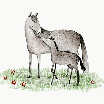 Mare & Foal by SophieCorrigan