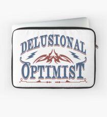 Delusional Optimistic - Novelty  Laptop Sleeve