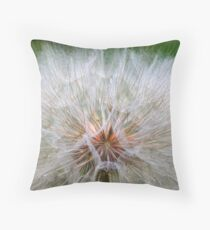 Dandelion Time Throw Pillow