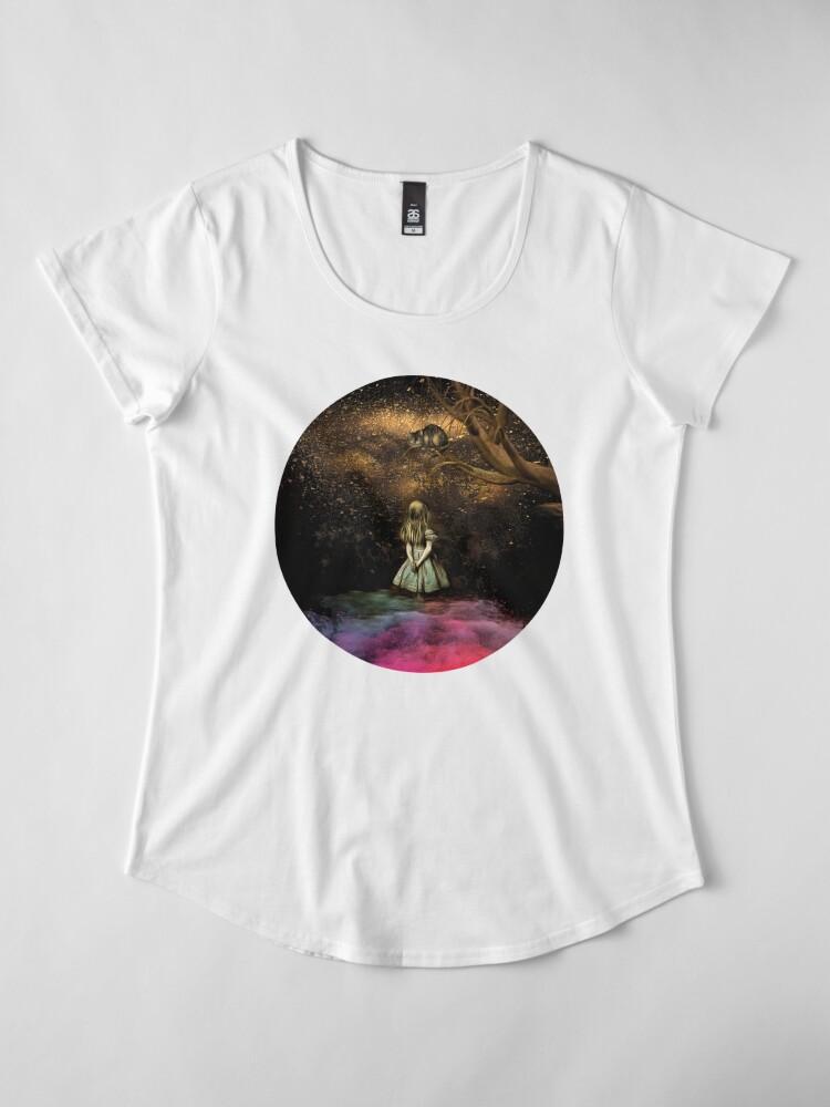 Vista alternativa de Camiseta premium de cuello ancho Magical Wonderland