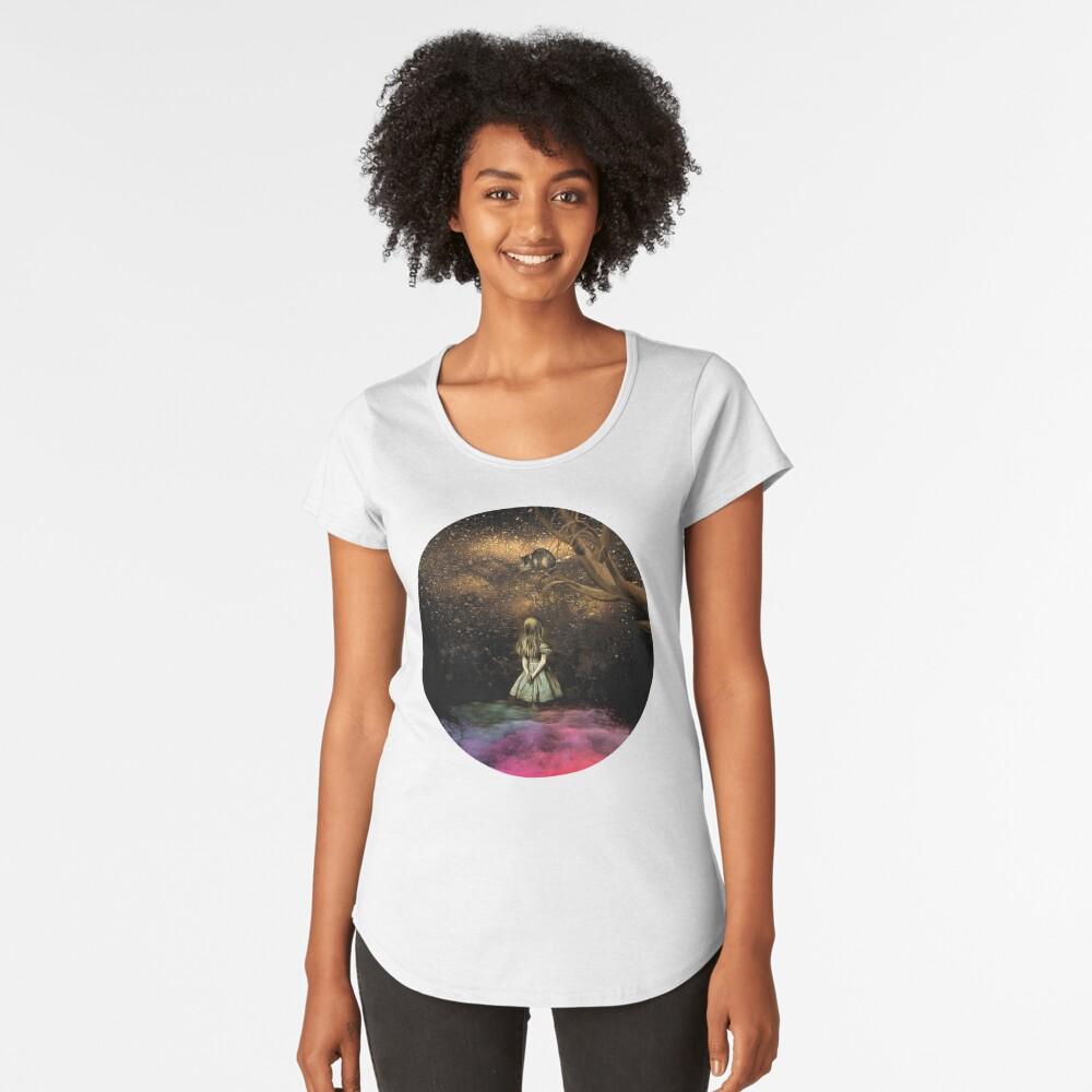Magical Wonderland Camiseta premium de cuello ancho