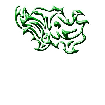 Squiggles Green by JCS-Designs