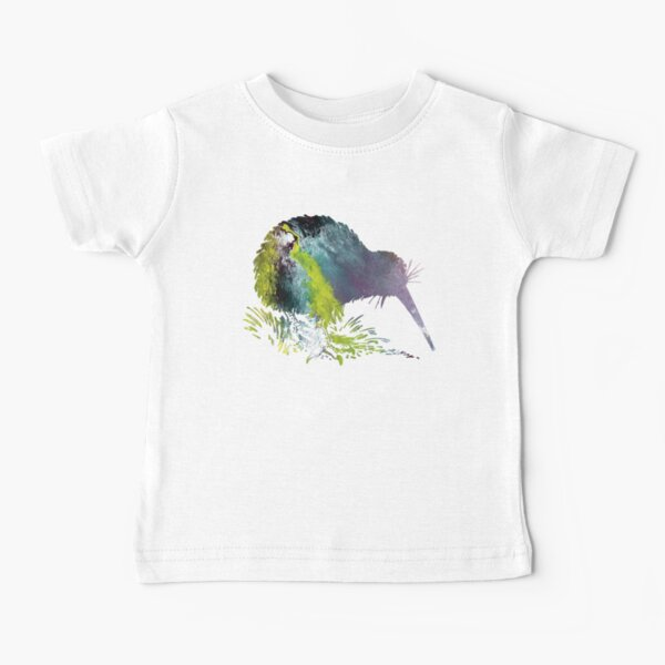 Kiwi Bird Art Baby T-Shirt