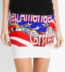 Keep America Great! Mini Skirt