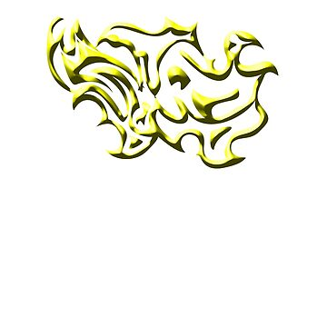 Squiggles Yellow by JCS-Designs