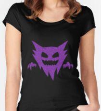 Pokemon - GHOST Type - Purple Women's Fitted Scoop T-Shirt
