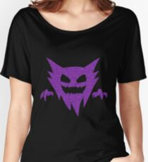 Pokemon - GHOST Type - Purple Women's Relaxed Fit T-Shirt