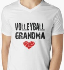 Volleyball Grandma Love Men's V-Neck T-Shirt