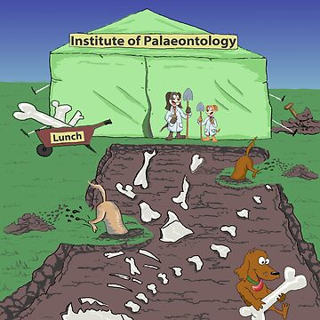 Institute of Palaeontology by Gmagennis