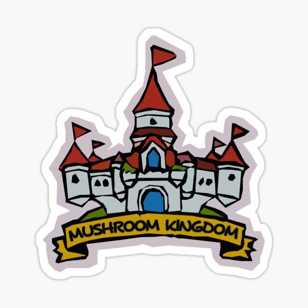 Mushroom Kingdom Tourism Board Sticker