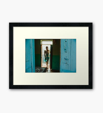 Dimensions of Reality Framed Print