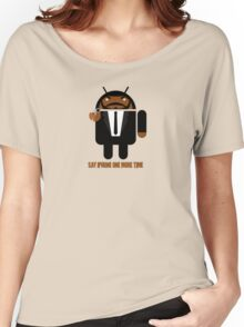 Pulp Fiction BugDroid Women's Relaxed Fit T-Shirt